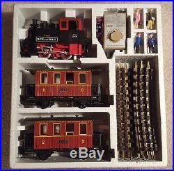 1983 LGB 20301 BP Buffalo Pass Scalplock and Denver Big Train Set with 2076 engine