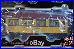 Aristo Craft Train 28109 Santa Fe G Scale Train Set Passenger 0-4-0 Model New