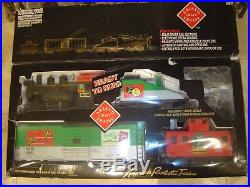 Aristocraft G Scale Art-28293 7 Up Christmas Train Set New In Box, Sound, Lights