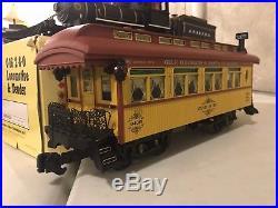 Aristocraft G-Scale Santa Fe Steam Train Set (Locomotive & Passenger Cars)