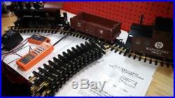 Aristocraft Prr Freight Train Set 0-4-0 Loco With Basic Train Engineer Remote
