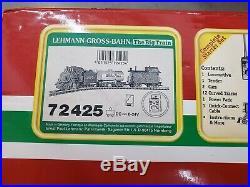 BACHMANN BIG HAULERS TRAIN SET G SCALE atsf lgb 72425 white pass lionel lot