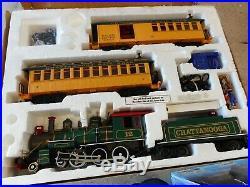 BACHMANN BIG HAULER G Scale Chattanooga Train Set-Complete