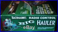 BACHMANN BIG HAULER TRAIN SET NIB G scale Model RR