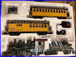 BACHMANN G Scale Big Haulers Chattanooga Real smoke Train set