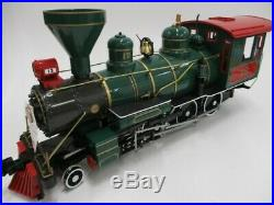 BACHMANN The Night Before Christmas Electric Train Set G Gage Steel Wheels