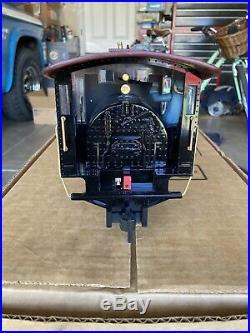 Bachman G Scale 4-6-0 Steam Locomotive Train Set. Locomotive Runs smooth. No box