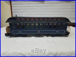 Bachmann 90016 Royal Blue Ready-to-Run Train Set/Box G scale Big Haulers US Mail