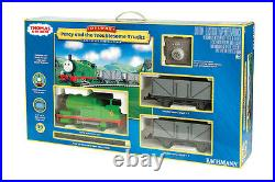 Bachmann 90069 Percy And The Troublesome Trucks Train Set G Scale New