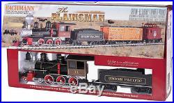 Bachmann 90078, G-Scale, The Plainsman Train Set, NIB