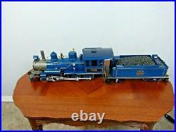 Bachmann Big Hauler Blue Comet New Jersey Central Model G Scale Train Set 4-6-0