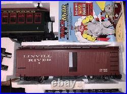 Bachmann Big Hauler G Scale Tweetsie Train Set 4-6-0 Steam Engine