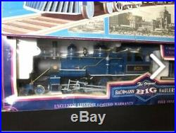 Bachmann Big Haulers 4-6-0 Blue Comet Atlantic City Express Train Set 58616 Nice