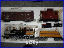 Bachmann Big Haulers D&RG Silverton Flyer G Scale Electric Train Set 90025