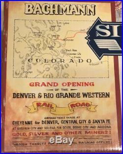 Bachmann Big Haulers G Gauge # 90025 Silverton Flyer Train Set Denver/Rio Grande