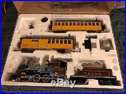 Bachmann Big Haulers G Scale Ready To Run Silverado Train Set