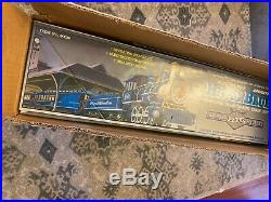 Bachmann Big Haulers G Scale Royal Blue Train Set