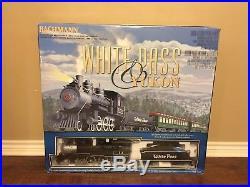 Bachmann Big Haulers G Scale White Pass & Yukon Train Set 90059 Complete Set