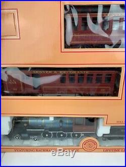 Bachmann Big Haulers Gold Rush G Scale Electric Train Set 90022