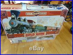 Bachmann Big Haulers Gold Rush G Scale Electric Train Set 90022 Nice Big