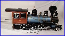 Bachmann Big Haulers Gold Rush No. 90022 G Scale 4-6-0 Electric Train Set