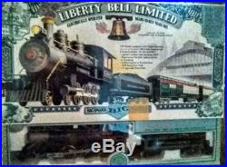 Bachmann Big Haulers Liberty Bell Limited Train Set G Scale NEW IN THE BOX