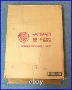 Bachmann Big Haulers Royal Blue G Scale Train Set In Box / Shipper Box