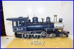 Bachmann Big Haulers Royal Blue G Scale Train Set with 4-6-0 Locomotive