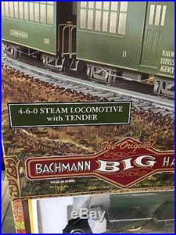 Bachmann Big Haulers Suwannee River Special G Scale Electric Train Set NIB