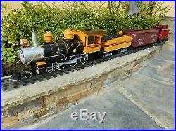 Bachmann Denver & Rio Grande Western G Scale Train Set- C-7 Excellent Condition