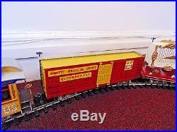 Bachmann Emmett Kelly JR Circus Ringmaster G Gauge Scale Model Train Set Used