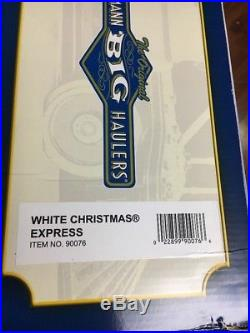 Bachmann G Large Scale White Christmas Express Train Set 90076