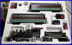 Bachmann G Scale Big Hauler The Polar Express 4-6-0 Steam Locomotive Train Set