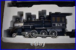 Bachmann G Scale Royal Blue Train Set 90016 Bachmann Big Haulers