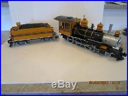 Bachmann G Scale Silverton Flyer Train Set Locomotive Tender Exc