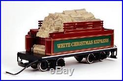 Bachmann G Scale Train (122.5) Set White Christmas Express 90076