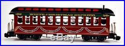 Bachmann G Scale Train (122.5) Set White Christmas Express ...