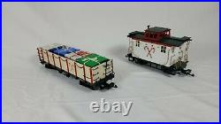 Bachmann G Scale Train Set North Pole and Southern 4-6-0 Locomotive and 4 Cars