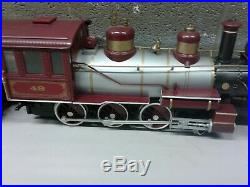 Bachmann G Scale Train Set Valvoline Express Santa Fe 49 Locomotive 14pcs Track