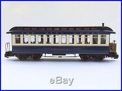 Bachmann G scale #58616 Blue Comet Atlantic City Express train set MIB