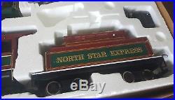 Bachmann G scale big hauler train set NORTH STAR EXPRESS