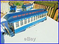 Bachmann Light Blue Comet Atlantic City Express Train Set Large G Scale Toy Lot
