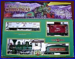 Bachmann Night Before Christmas G Scale Locomotive Train Set Incomplete