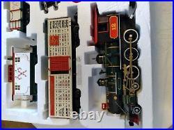Bachmann Northern Lights 4-6-0 STEAM LOCOMOTIVE TRAIN SET #90061 EX COND