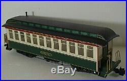 Bachmann Pennsylvania Train 9670 Stem Locomotive 2 Passenger Cars G Scale Set #2