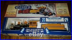 Bachmann Silverton Flyer Train Set As Is Denver & Rio Grande Western Engine G RR