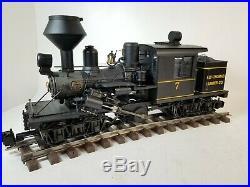 Bachmann Spectrum G Scale Ely Thomas 7 Engine Train Set w Control Master 20