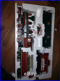 Bachmann Steam Engine Christmas Train Set G Gauge