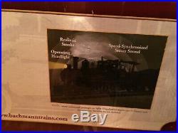 Bachmann Steam Engine Night Before Christmas Train Set G Gauge 4-6-0