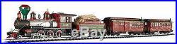 Bachmann Trains White Christmas Express Ready-To-Run Large Train Set